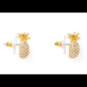 Kate Spade By the Pool Pave Pineapple minI studs